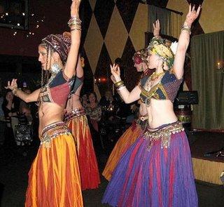 Yep, Modern Berber dancers