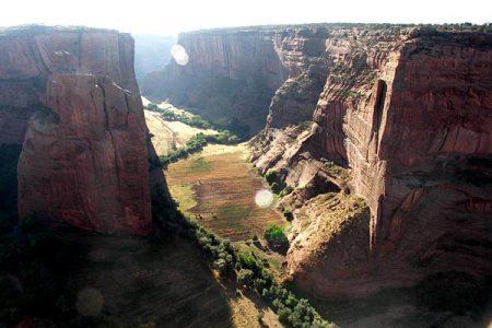 Canyon de Chelly in NE Arizona, but looks just like Ancestors Canyon