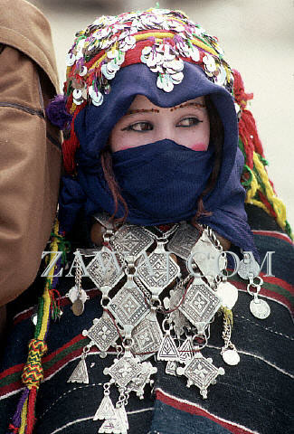 Young Moroccan Bride