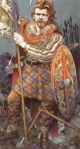 Cu Chulainn, from Celtic Mythology