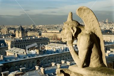 Devil Overlooking Paris