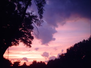 sky in the NorthEast, Jane Kohut-Bartels, June 25, 2012