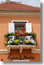 Budapest Balcony with flowers