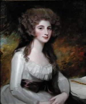 18th century young woman