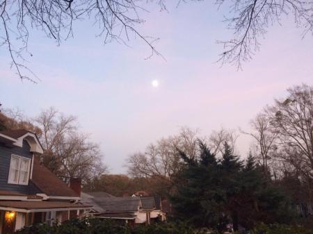 Moon dec 30, 2017