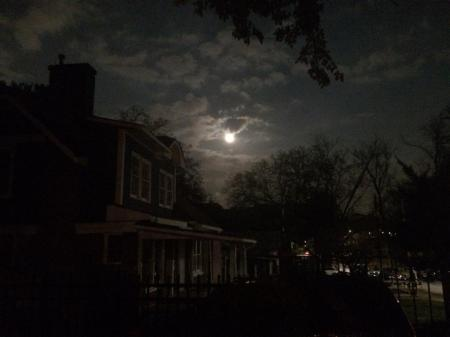 Supermoon in dec.