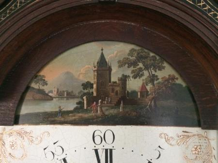 Samuel Harley painting on Clock.jpg